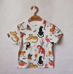 TEE SHIRT UNISEX -  JUNGLE FRIENDS SS19/20