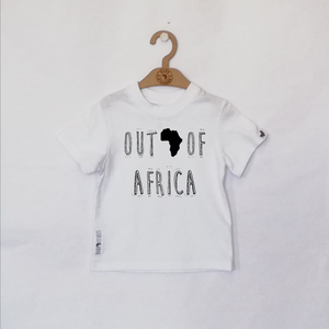 OUT OF AFRICA BLACK ON WHITE SS20/21