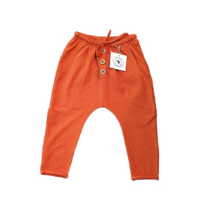 LOUNGE PANTS - BURNT ORANGE LACOSTE AW2020