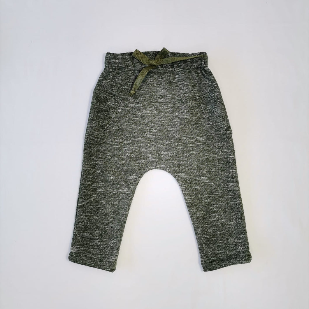 JOGGER PANTS - HEATHER GREEN AW21