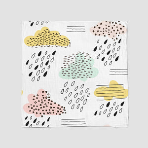 SWADDLE BLANKET - THE RAIN FALLS IN AFRICA AW19