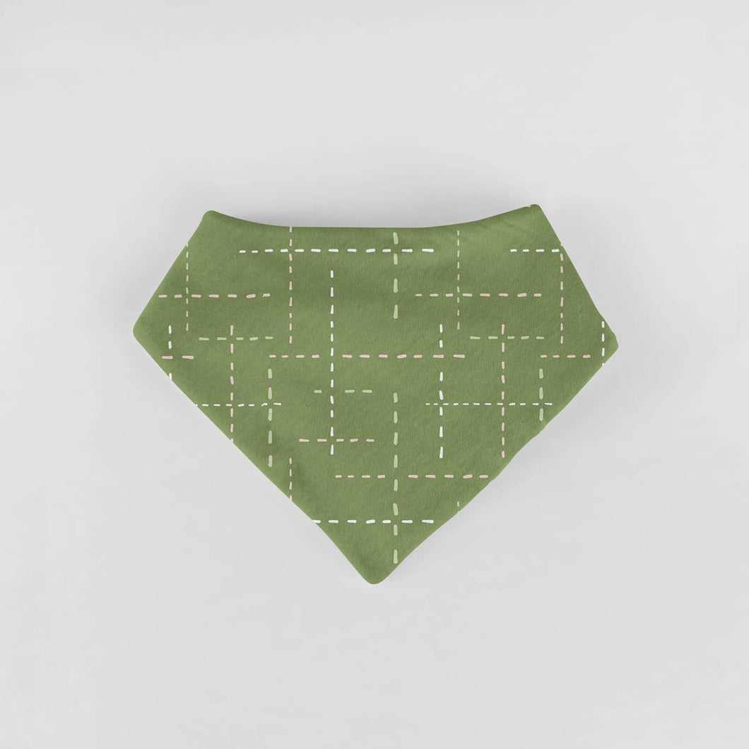 BANDANA SS19/20 GREEN DASHES