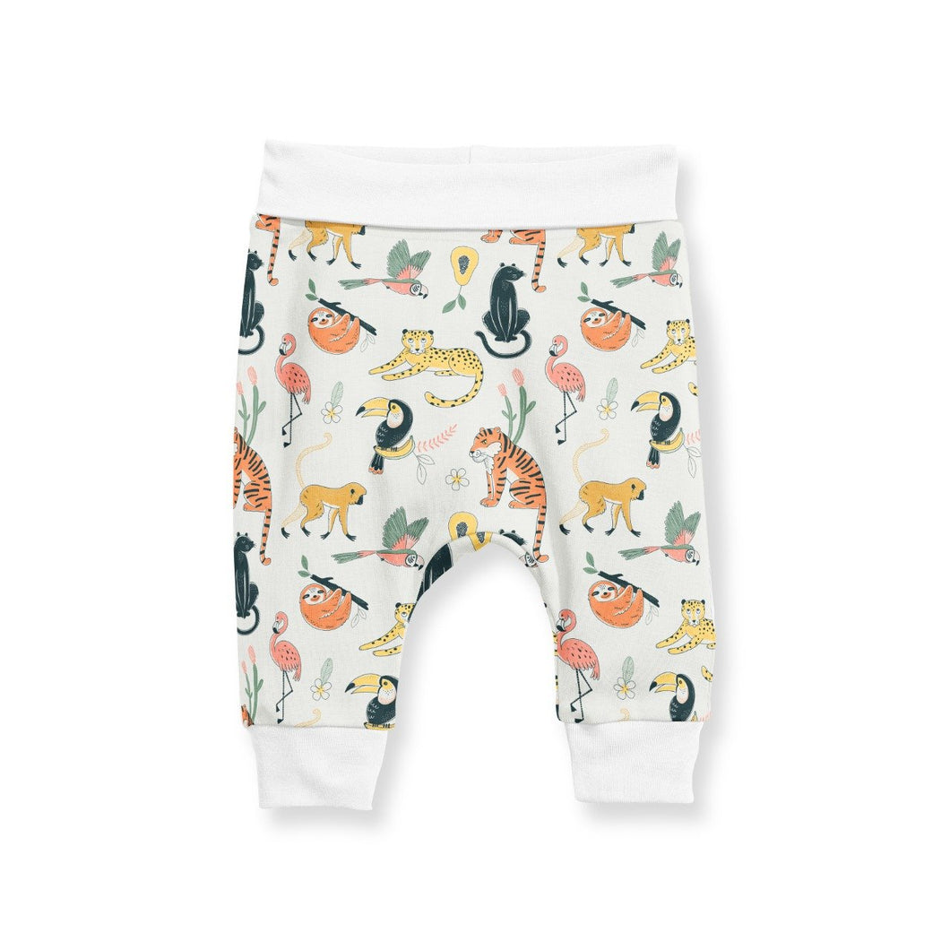 CUFFED PANTS - JUNGLE FRIENDS SS19/20