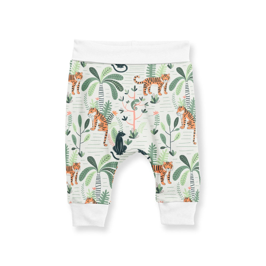 PANTS WITH CUFF - JUNGLE FEVER