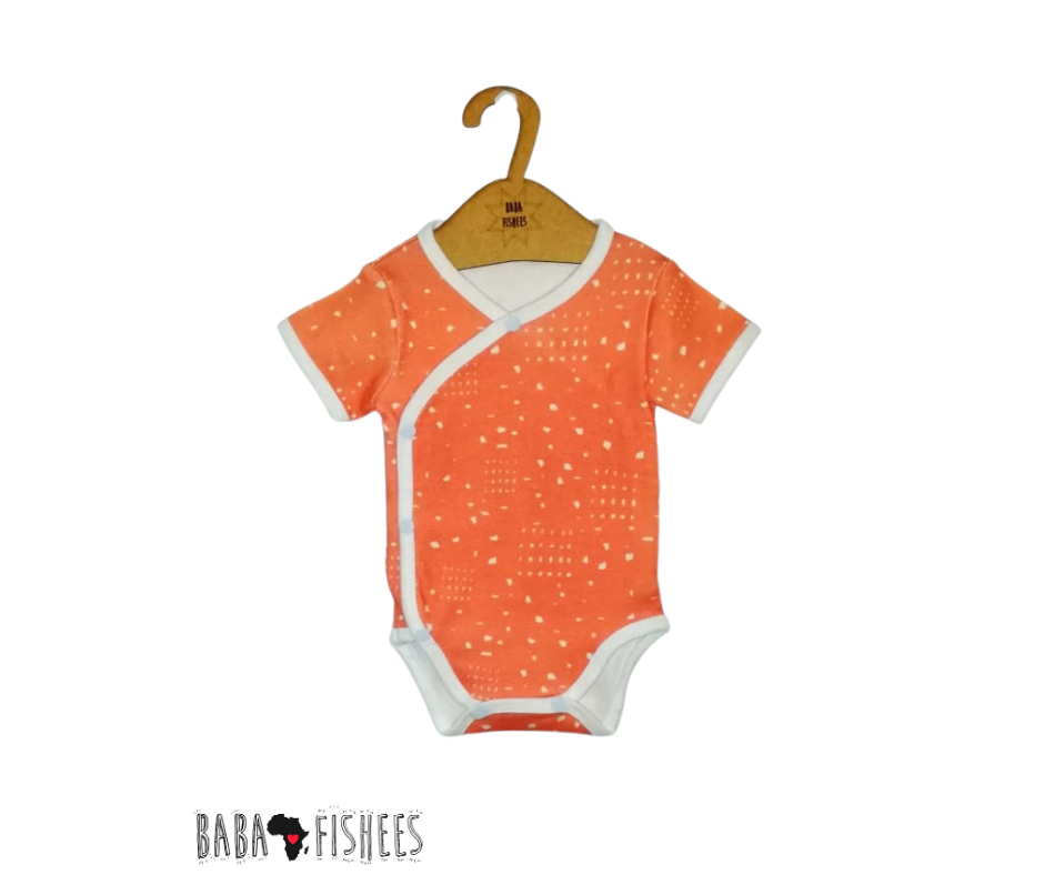 WRAP ONESIE - CORAL PIECES SS20/21