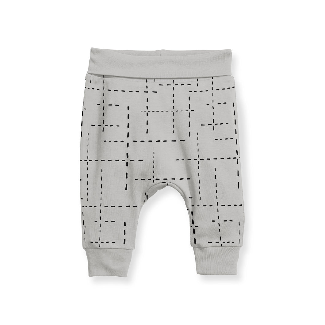 CUFF PANTS - DASH GREY