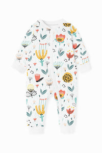 ZIPPY ROMPER - RANDOM FLOWERS