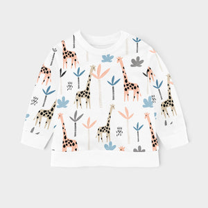 SWEAT SHIRT - GIRAFFES AW20