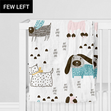 Load image into Gallery viewer, SWADDLE BLANKET - ITS A DOGS LIFE! AW19
