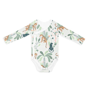 WRAP ONESIE - LONG SLEEVE JUNGLE FEVER