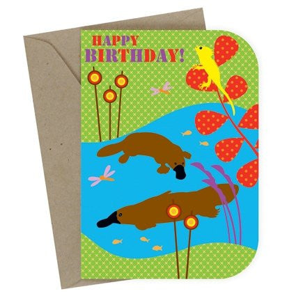 "Birthday Card ""Billabong"""