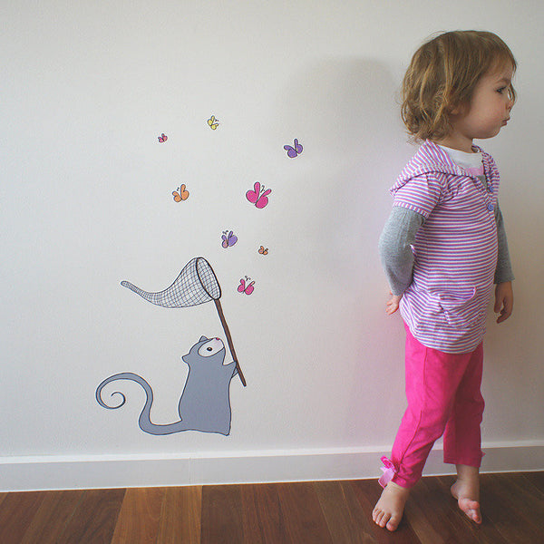 """Possum Butterfly"" decal"