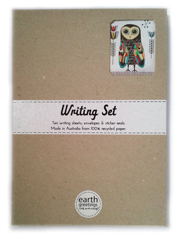 Lesser Sooty Owl - Writing Set
