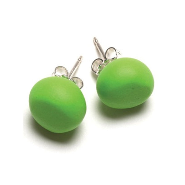 Emily Green - Apple Green Studs