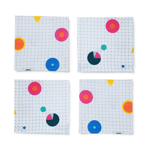 Arro Home Napkins - Pie Graph