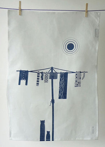 Big Metal Tree Tea Towel