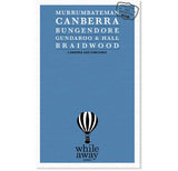 Whileaway Guides - Canberra & Surrounds Travel Guide