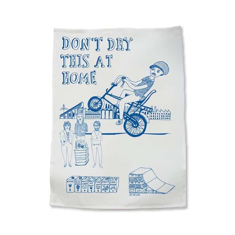 Able and Game - Don't Dry This At Home Tea Towel