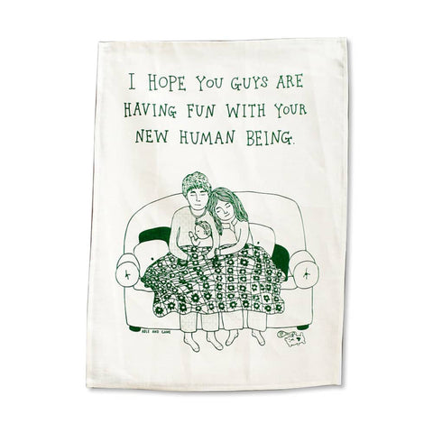 New Human Tea Towel