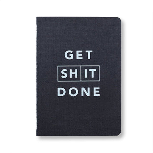 Get Shit Done Journal Black