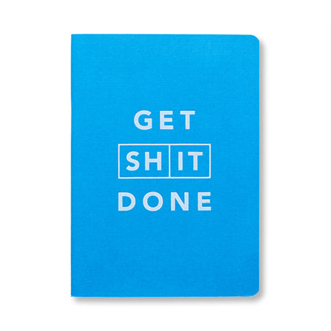 Mi Goals - Get Shit Done Notebook in Blue
