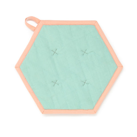 Hexagonal Pot Holder