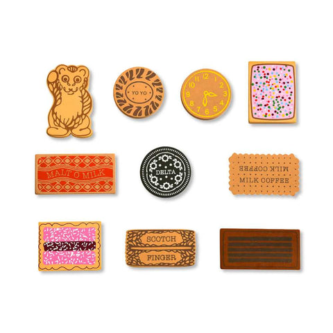 Toy Wooden Biscuits