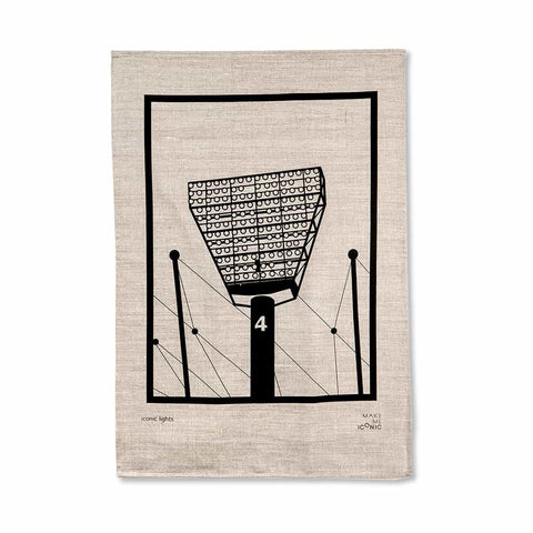 MCG Lights Tea Towel