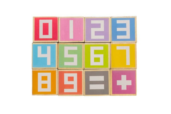 Number Stacking Blocks
