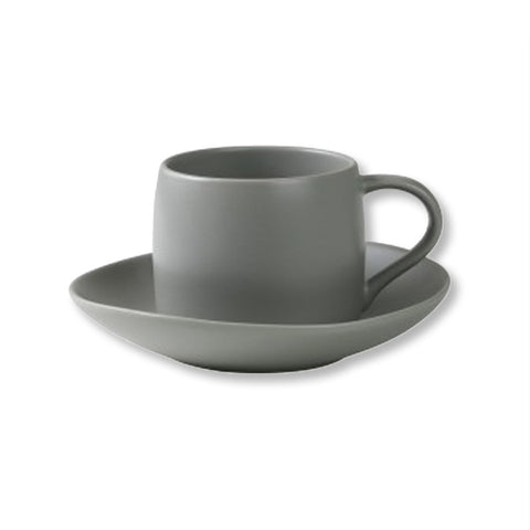 Cup and Saucer in Grey - Robert Gordon