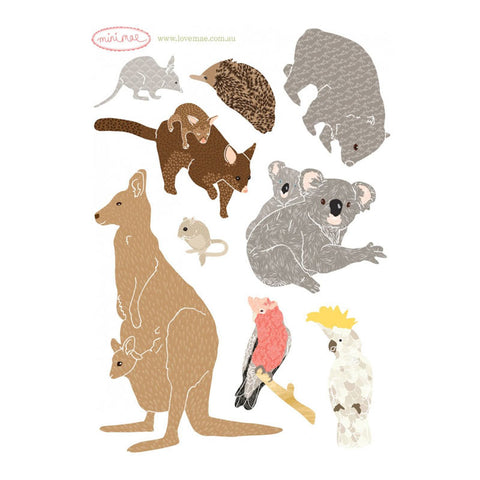 Australian Animal Decals