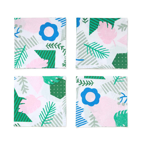 Patchwork Jungle Napkin Set
