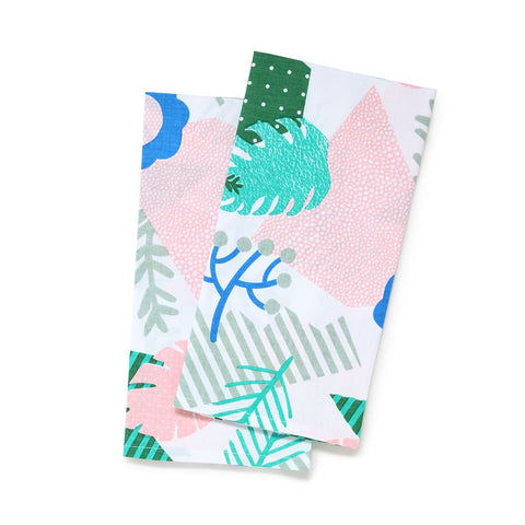 Patchwork Jungle Tea Towel Set