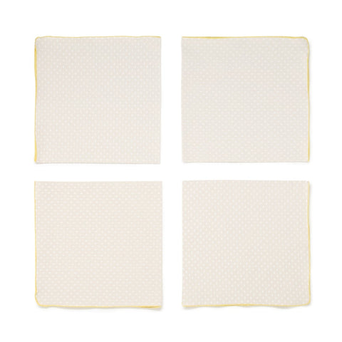 Arro Home Seeds Napkin Set - Coffee