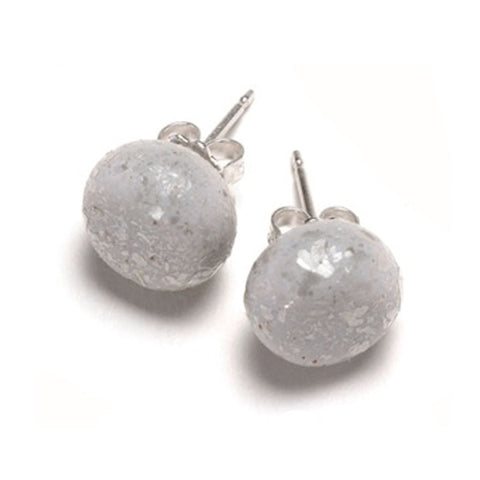 Emily Green - Silver Sparkle Studs