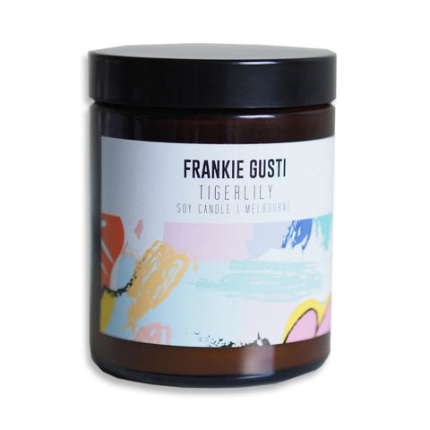Tigerlily Soy Candle by Frankie Gusti