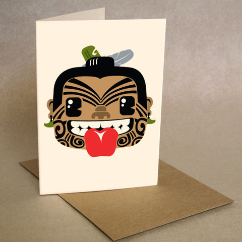 "Greeting Card ""Warrior"""