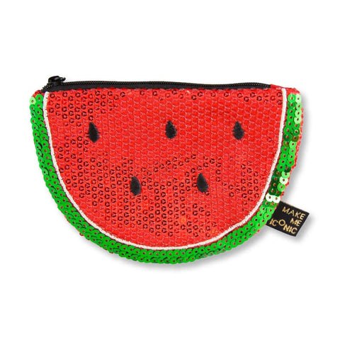 Watermelon Sequin Purse