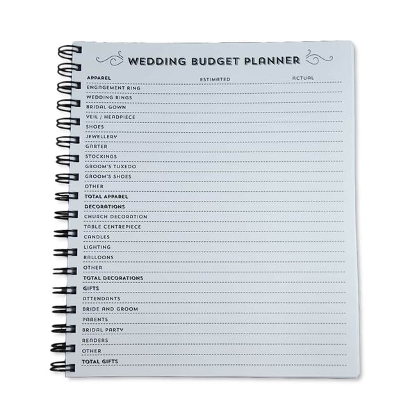Write to Me - Wedding Journal Budget