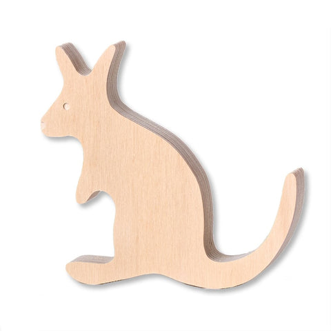 One Two Tree Wooden Kangaroo