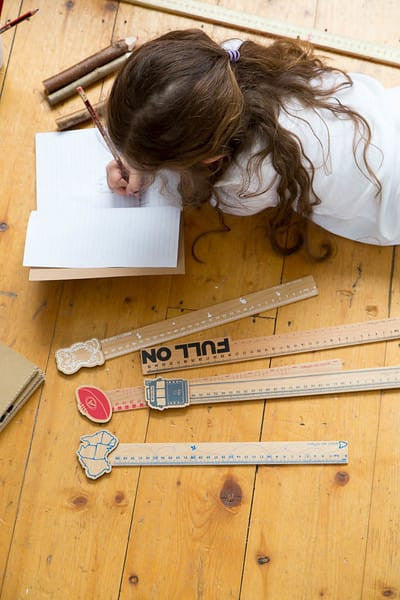 Iconic wooden rulers lifestyle