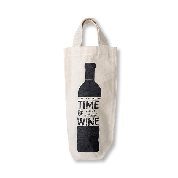 Time for Wine Wine Tote