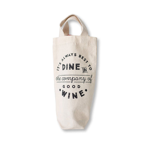 Wine and Dine - Wine Bottle Tote