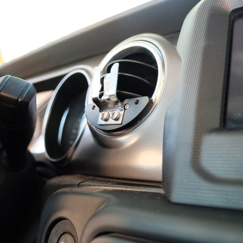 CB Radio mounting clip for Jeep Wrangler JL and Gladiator JT