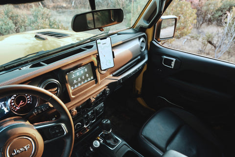 Best phone mount for Jeep Wrangler
