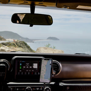 Jeep Wrangler & Gladiator Phone mount kit - Offroam