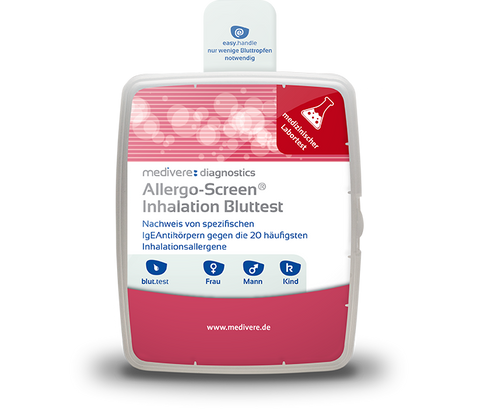 Medivere Allergo Screen Inhalation - Blutuntersuchung