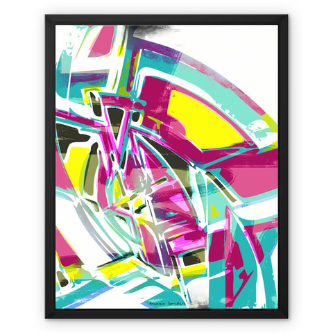 blast 6.0 Framed Canvas