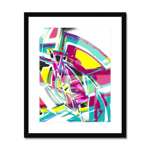 blast 6.0 Framed & Mounted Print