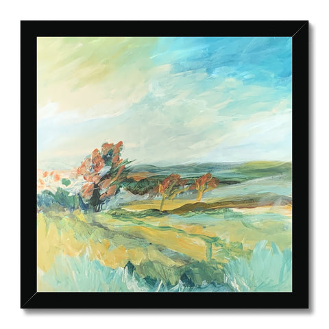 petworth park , 2pm- 5pm Framed Print